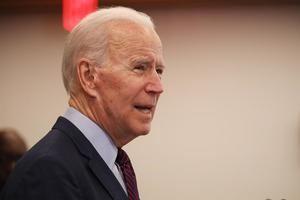 Imagen de archivo del candidato demócrata a la Presidencia de EE.UU., Joe Biden.