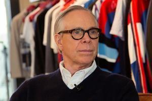 El diseñador Tommy Hilfiger.