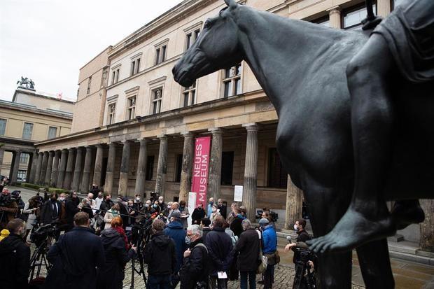 Berlín investiga presunto vandalismo con 70 obras dañadas en la Isla de los Museos