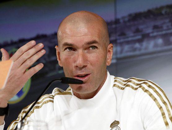 """El Real Madrid va a """"darlo todo para ganar"""" algún título, avisa Zidane"""