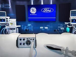 Fotografía cedida este lunes por el fabricante estadounidense de automóviles Ford donde se muestra el modelo de respirador A-E en su planta en Rawsonville, Michigan, donde se espera producir 1,500 unidades para finales de abril, 12,000 para finales de mayo y 50,000 para el 4 de julio.