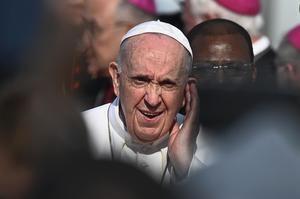 El papa Francisco el pasado domingo en Bratislava.
