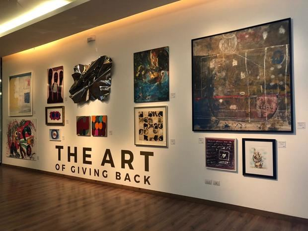"Fundación Amigos Contra el Cáncer Infantil presenta la exposiciòn ""The Art of Giving Back"""