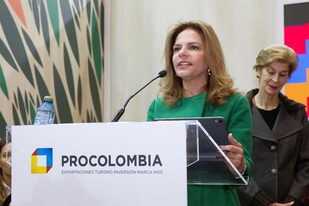 En la imagen, la presidenta de la agencia de promoción ProColombia, Flavia Santoro.