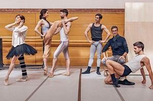 Bailarines de la Compañía Nacional de Danza.