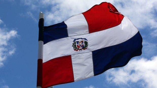 Bandera Dominicana.