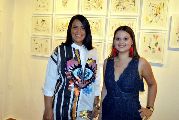 Artista Ana Battle inaugura muestra en Casa de Teatro