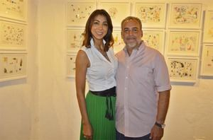 Gabriela Reginato y Luis Emilio Rodríguez
