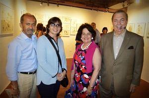 Fernando Casanova, Inés Aizpún, Llolli de Selman y Eduardo Selman