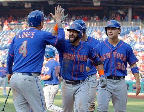 Bautista destaca al empujar 7 carreras en victoria de los Mets