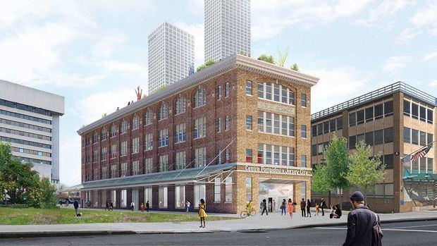 El Pompidou entra en Norteamérica con un nuevo centro en Jersey City