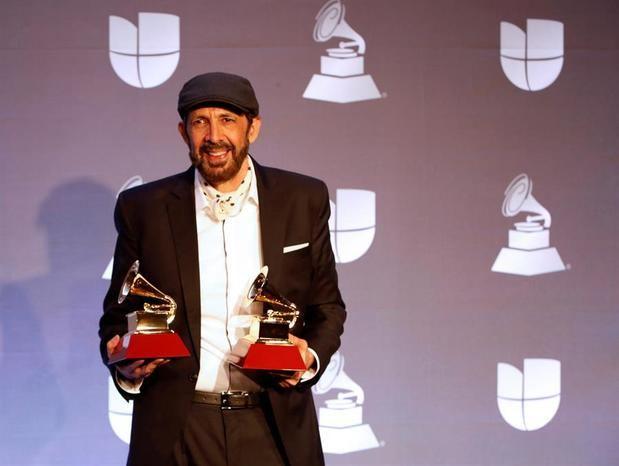 En la imagen el artista dominicano Juan Luis Guerra.