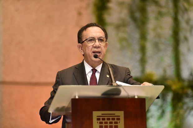 Gobernador del Banco Central de la República Dominicana, BCRD, Héctor Valdez Albizu.