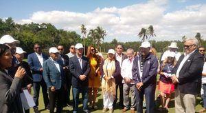 Leonel Fernández y Marichal inauguran en Miami un torneo de golf benéfico