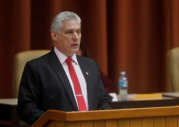 Fotografía de archivo del 21 de diciembre de 2019, que muestra al presidente cubano Miguel Díaz-Canel.