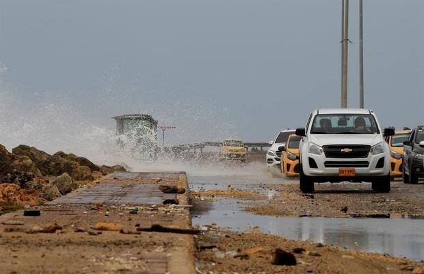 El huracán Iota alcanza la categoría 4 y se acerca a Centroamérica