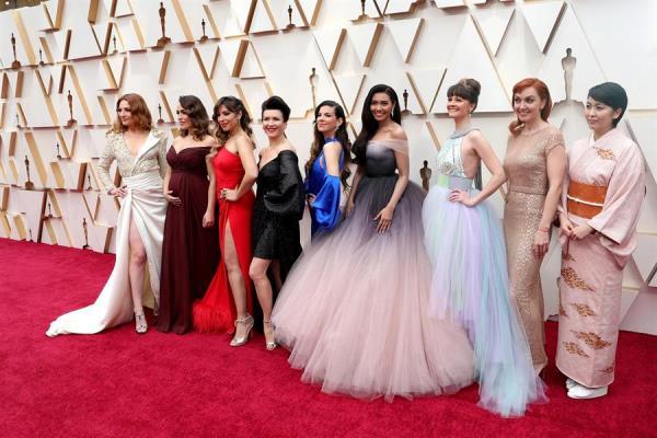 """Carmen Sarahí, una Elsa mexicana en los Óscar: """"Estoy soñando"""""""