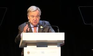 En la imagen, el secretario general de las Naciones Unidas, António Guterres.