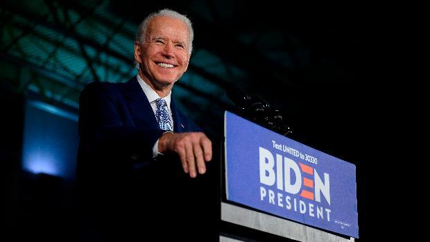 Exvicepresidente de EE.UU. Joe Biden se impuso este domingo en los caucus del estado Wyoming.