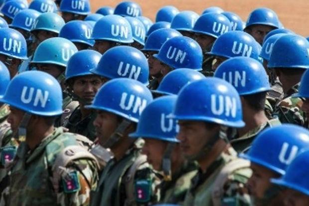 Fuerzas de la ONU.