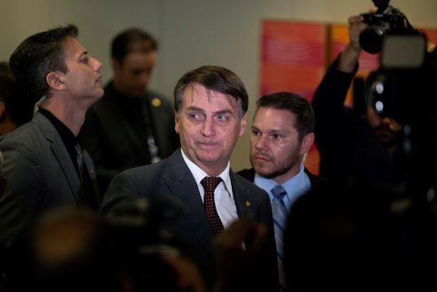 El presidente de Brasil, Jain Bolsonaro.