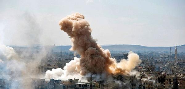 Coalición mata a decenas de familiares del EI en localidades en este de Siria