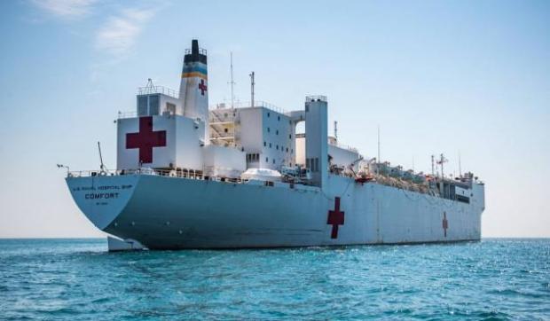 Llega a Ecuador buque hospital de EE.UU. para ofrecer atención médica