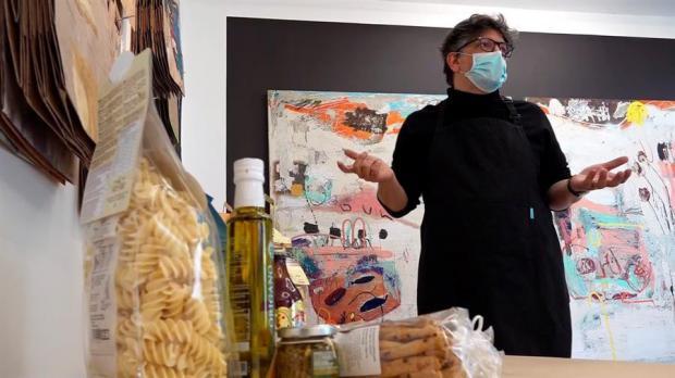De galería a tienda gurmé, el arte se adapta en tiempos de coronavirus