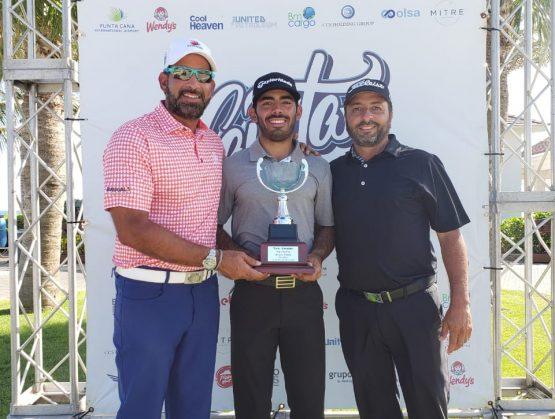 Golfista profesional Juan José Guerra se alzó con los máximos honores en la gran final del Tour Canita.