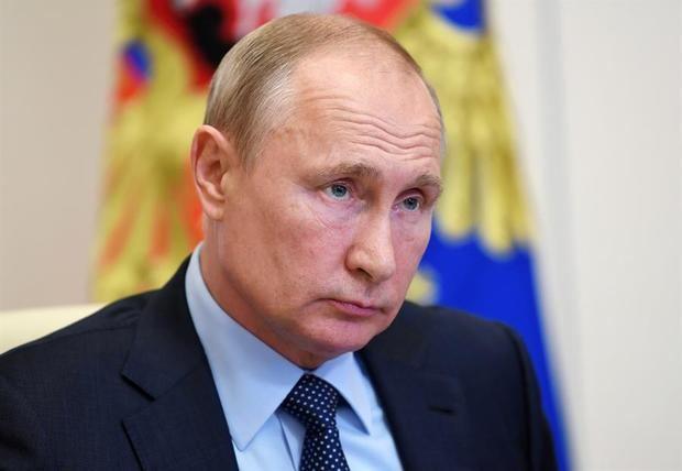 Presidente ruso, Vladímir Putin.
