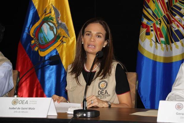 La OEA cree que Ecuador dio una muestra de democracia para toda la región