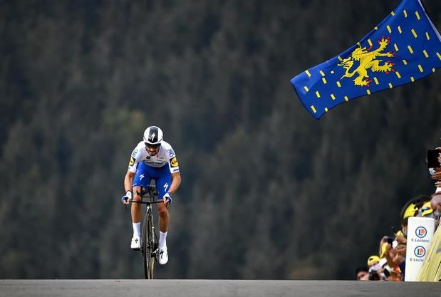El francés Julian Alaphilippe se proclama campeón del mundo