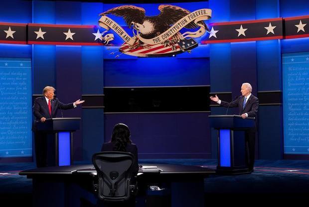 Trump y Biden por fin debaten y exhiben diferencias insalvables en casi todo