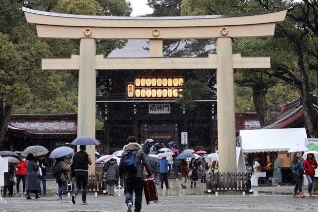 En la imagen, el santuario sintoísta de Meiji, en Tokio.