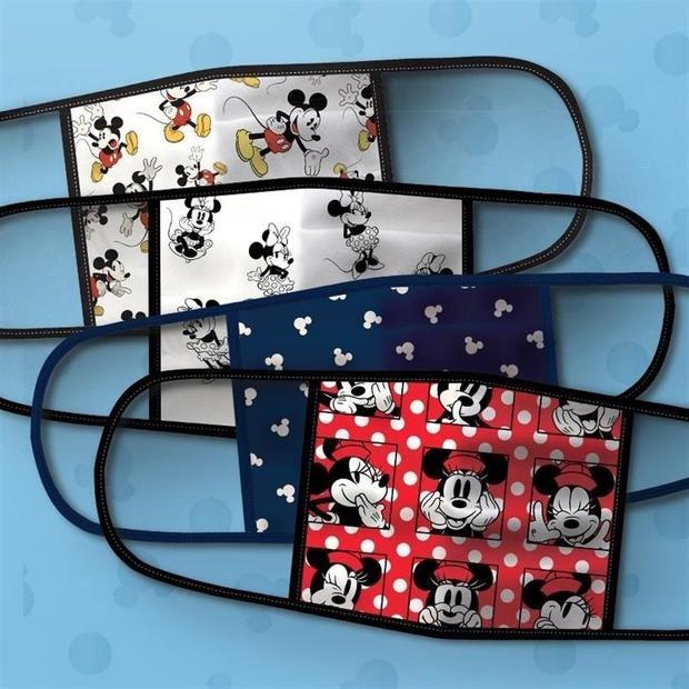 Disney estrena mascarillas de tela con sus personajes más queridos