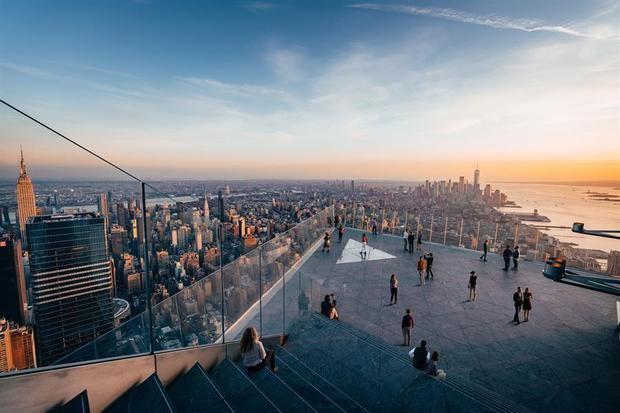 Un balcón a 345 metros de altura aspira a ser la vista definitiva de Nueva York