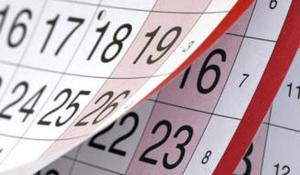 Calendario .