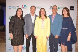Nydia Alegría, Pedro José Hernández, Dalia Sued, Pedro Ángel Martínez y Johanny Corona.