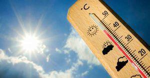 Condiciones de buen tiempo y temperaturas calurosas sobre gran parte de la República Dominicana.