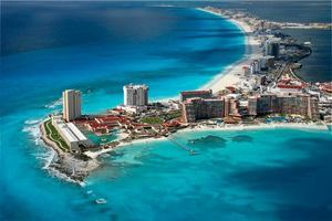 Puerto Morelos en Cancún, México.