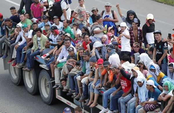 Más de 7.000 personas viajan en caravana migrante, según estimación de la ONU