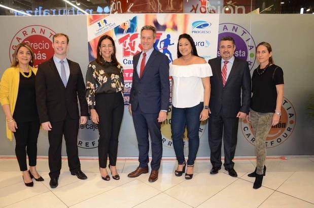 Anuncian sexta edición de la carrera Carrefour 10 K
