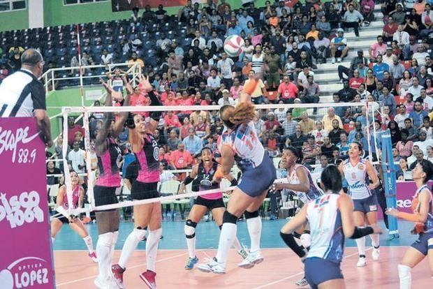 Las Caribeñas se colocan a un triunfo de la final Liga Voleibol Superior