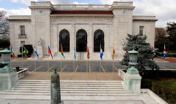 Sede de la Organización de Estados Americanos donde se encuentra el salón