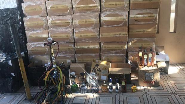 Autoridades ocupan mercancías provenientes de red dedicada al contrabando