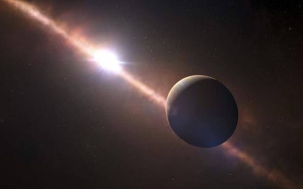 Localizado un exoplaneta con condiciones para albergar vida