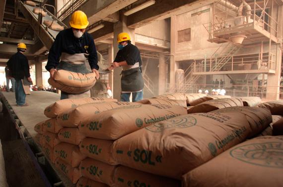 Ventas de cemento caen 2% en segundo trimestre del año