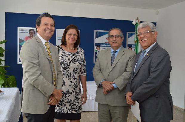 Ramón Sosa Alcántara, Araminta Astwood, Simon Mahfoud y Jaime Fernández