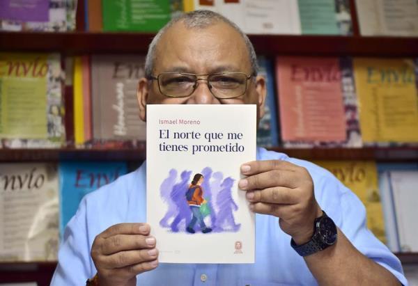"""""""El norte que me tienes prometido"""", una novela hondureña sobre la migración"""