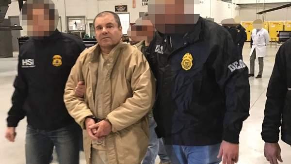 La Fiscalía de EE.UU. pide cadena perpetua por más de 30 años de cárcel para el Chapo
